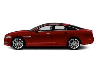 Italian Racing Red 2014 Jaguar XJ Pictures XJ Sedan 4D L XJR V8 Supercharged photos side view