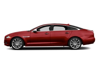 Italian Racing Red 2014 Jaguar XJ Pictures XJ Sedan 4D L Portolio V6 photos side view