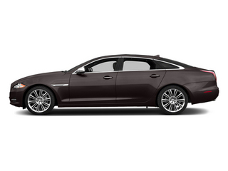 Caviar Metallic 2014 Jaguar XJ Pictures XJ Sedan 4D L Portolio V6 photos side view