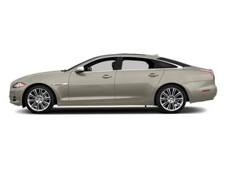 Cashmere Metallic 2014 Jaguar XJ Pictures XJ Sedan 4D L Portolio V6 photos side view