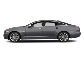 Lunar Grey Metallic 2014 Jaguar XJ Pictures XJ Sedan 4D L Portolio V6 photos side view