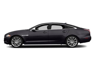 Ultimate Black Metallic 2014 Jaguar XJ Pictures XJ Sedan 4D L Portolio V6 photos side view