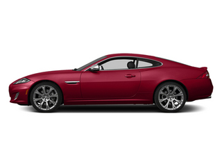 Carnelian Red Metallic 2014 Jaguar XK Pictures XK Coupe 2D V8 photos side view