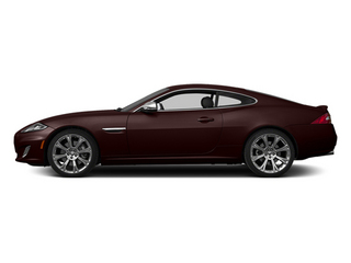 Caviar Metallic 2014 Jaguar XK Pictures XK Coupe 2D V8 photos side view