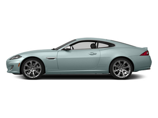 Crystal Blue Metallic 2014 Jaguar XK Pictures XK Coupe 2D V8 photos side view