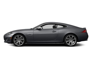 Lunar Gray Metallic 2014 Jaguar XK Pictures XK Coupe 2D V8 photos side view