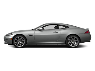 Rhodium Silver Metallic 2014 Jaguar XK Pictures XK Coupe 2D V8 photos side view