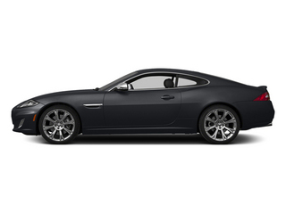 Stratus Gray Metallic 2014 Jaguar XK Pictures XK Coupe 2D V8 photos side view