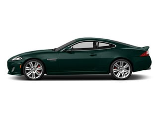 British Racing Green 2014 Jaguar XK Pictures XK Coupe 2D XKR V8 Supercharged photos side view