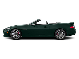 British Racing Green 2014 Jaguar XK Pictures XK Convertible 2D XKR-S V8 Supercharged photos side view