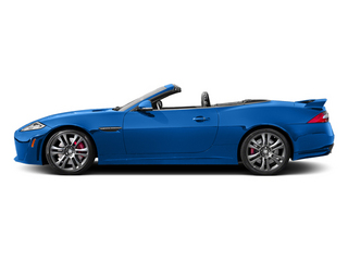 French Racing Blue 2014 Jaguar XK Pictures XK Convertible 2D XKR-S V8 Supercharged photos side view