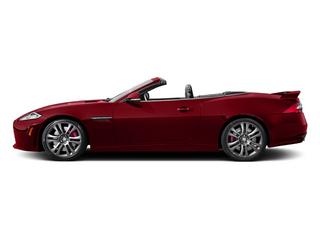 Italian Racing Red 2014 Jaguar XK Pictures XK Convertible 2D XKR-S V8 Supercharged photos side view