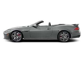 Rhodium Silver Metallic 2014 Jaguar XK Pictures XK Convertible 2D XKR-S V8 Supercharged photos side view