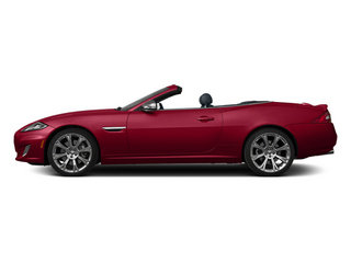 Carnelian Red Metallic 2014 Jaguar XK Pictures XK Convertible 2D XKR V8 Supercharged photos side view