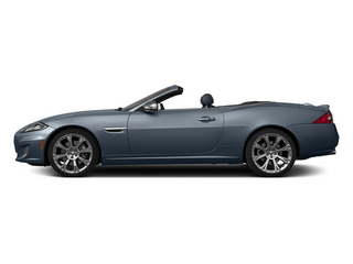Satellite Gray Metallic 2014 Jaguar XK Pictures XK Convertible 2D XKR V8 Supercharged photos side view