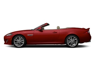 Italian Racing Red 2014 Jaguar XK Pictures XK Convertible 2D Touring V8 photos side view