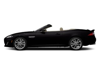 Ultimate Black Metallic 2014 Jaguar XK Pictures XK Convertible 2D Touring V8 photos side view