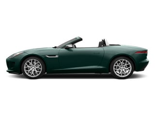 British Racing Green 2014 Jaguar F-TYPE Pictures F-TYPE Convertible 2D V6 photos side view