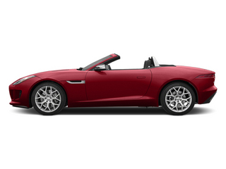 Italian Racing Red 2014 Jaguar F-TYPE Pictures F-TYPE Convertible 2D V6 photos side view