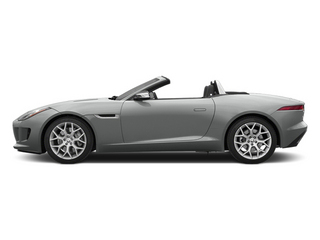 Rhodium Silver Metallic 2014 Jaguar F-TYPE Pictures F-TYPE Convertible 2D V6 photos side view