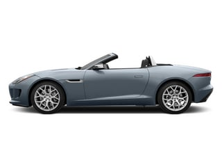 Satellite Gray Metallic 2014 Jaguar F-TYPE Pictures F-TYPE Convertible 2D V6 photos side view