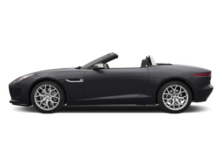 Stratus Gray Metallic 2014 Jaguar F-TYPE Pictures F-TYPE Convertible 2D V6 photos side view