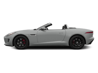 Rhodium Silver Metallic 2014 Jaguar F-TYPE Pictures F-TYPE Convertible 2D S V6 photos side view