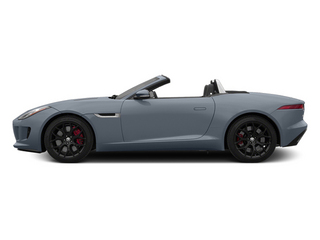 Satellite Gray Metallic 2014 Jaguar F-TYPE Pictures F-TYPE Convertible 2D S V6 photos side view
