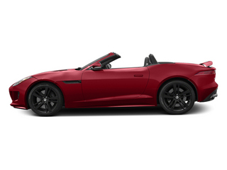 Italian Racing Red 2014 Jaguar F-TYPE Pictures F-TYPE Convertible 2D S V8 photos side view