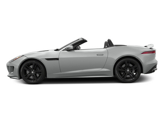 Rhodium Silver Metallic 2014 Jaguar F-TYPE Pictures F-TYPE Convertible 2D S V8 photos side view