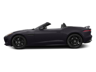 Ultimate Black Metallic 2014 Jaguar F-TYPE Pictures F-TYPE Convertible 2D S V8 photos side view