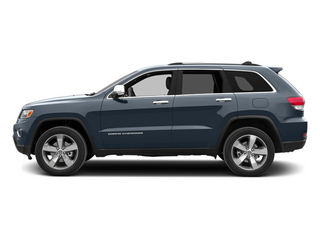 Pacific Blue Clearcoat 2014 Jeep Grand Cherokee Pictures Grand Cherokee Utility 4D Limited Diesel 2WD photos side view