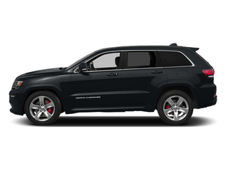 Maximum Steel Metallic Clearcoat 2014 Jeep Grand Cherokee Pictures Grand Cherokee Utility 4D SRT-8 4WD photos side view