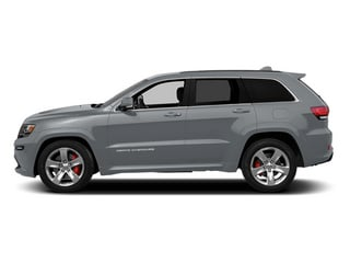Billet Silver Metallic Clearcoat 2014 Jeep Grand Cherokee Pictures Grand Cherokee Utility 4D SRT-8 4WD photos side view
