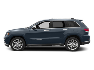 Pacific Blue Clearcoat 2014 Jeep Grand Cherokee Pictures Grand Cherokee Utility 4D Summit Diesel 2WD photos side view