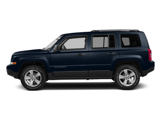 True Blue Pearlcoat 2014 Jeep Patriot Pictures Patriot Utility 4D Limited 2WD photos side view