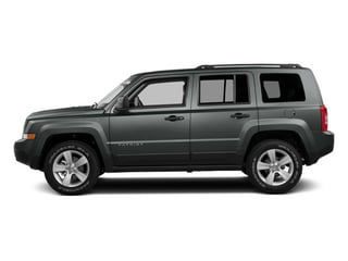 Mineral Gray Metallic Clearcoat 2014 Jeep Patriot Pictures Patriot Utility 4D Limited 2WD photos side view