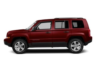 Deep Cherry Red Crystal Pearlcoat 2014 Jeep Patriot Pictures Patriot Utility 4D Limited 2WD photos side view