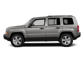 Bright Silver Metallic Clearcoat 2014 Jeep Patriot Pictures Patriot Utility 4D Limited 2WD photos side view