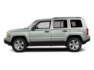 Bright White Clearcoat 2014 Jeep Patriot Pictures Patriot Utility 4D Limited 2WD photos side view