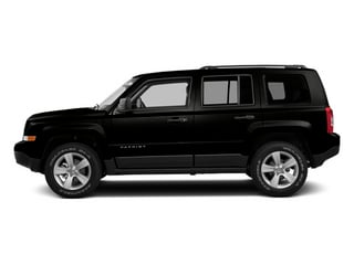 Black Clearcoat 2014 Jeep Patriot Pictures Patriot Utility 4D Limited 2WD photos side view