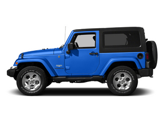 Hydro Blue Pearl Coat 2014 Jeep Wrangler Pictures Wrangler Utility 2D Altitude 4WD V6 photos side view