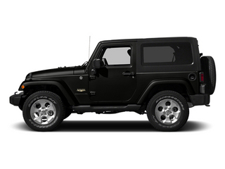 Black Clearcoat 2014 Jeep Wrangler Pictures Wrangler Utility 2D Rubicon 4WD V6 photos side view