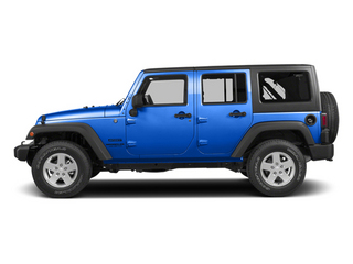 Hydro Blue Pearl Coat 2014 Jeep Wrangler Unlimited Pictures Wrangler Unlimited Utility 4D Unlimited Altitude 4WD V6 photos side view