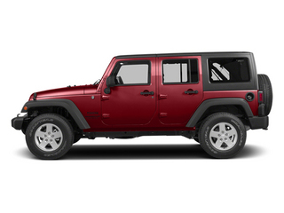 Flame Red Clearcoat 2014 Jeep Wrangler Unlimited Pictures Wrangler Unlimited Utility 4D Unlimited Rubicon 4WD V6 photos side view