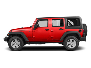 Firecracker Red Clear Coat 2014 Jeep Wrangler Unlimited Pictures Wrangler Unlimited Utility 4D Unlimited Altitude 4WD V6 photos side view