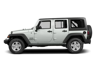 Bright White Clearcoat 2014 Jeep Wrangler Unlimited Pictures Wrangler Unlimited Utility 4D Unlimited Altitude 4WD V6 photos side view