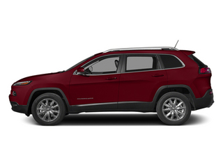 Deep Cherry Red Crystal Pearlcoat 2014 Jeep Cherokee Pictures Cherokee Utility 4D Sport 4WD photos side view