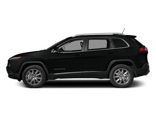 Brilliant Black Crystal Pearlcoat 2014 Jeep Cherokee Pictures Cherokee Utility 4D Latitude 4WD photos side view