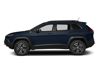 True Blue Pearlcoat 2014 Jeep Cherokee Pictures Cherokee Utility 4D Trailhawk 4WD photos side view